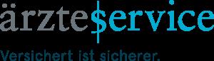 Aerzteservice_Logo_versichert ist sicherer
