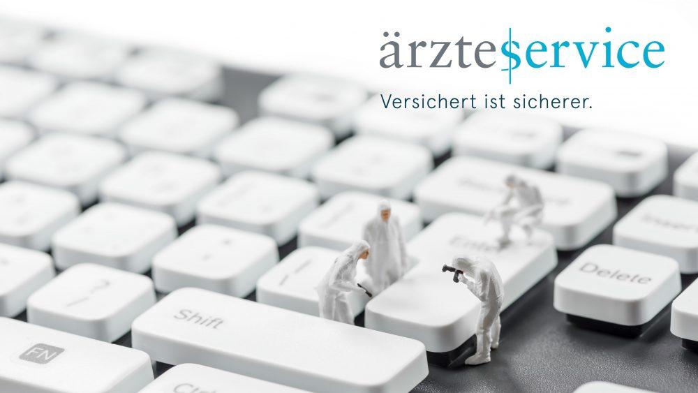 Cyberkriminaltiät_Cyberversicherung_Ärzteservice