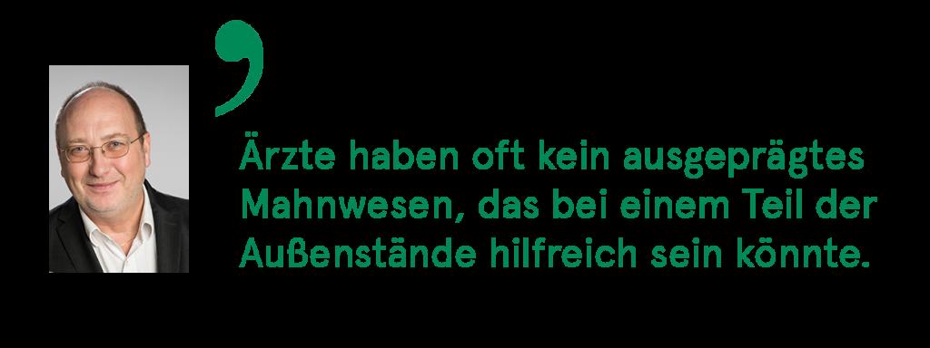 Zitat_Herr_Ulmer_Mahnwesen_Aerzteservice